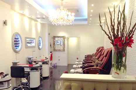 Kensington Nails and. Beauty Salon - Manicure Pedicure on Massage Chair  - Save 33%