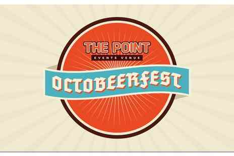 The Point Inn - One Day Entry to Weekend Octobeerfest for Two - Save 59%