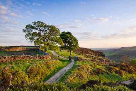 The Red Lion - One night  Peak District Gourmet Stay for  two   - Save 43%