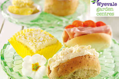 Wyevale Garden Centres - Wyevale Garden Centres Indulgent Afternoon Tea for Two - Save 54%