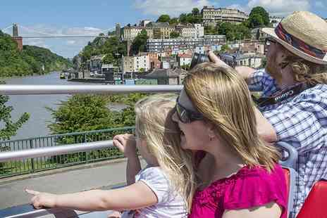 Bristol insight - Ticket  to Sightseeing Bus for Adult, Student or Child - Save 33%