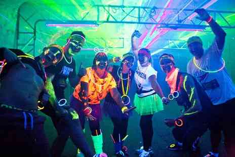 Glow in the Park - Entry to the Glow in the Park 5k fun run in Manchester - Save 32%