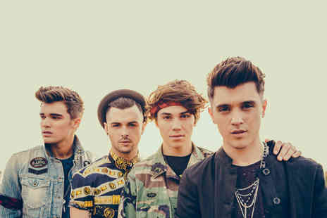 Shout Media and Events - Ticket to see Union J and special guests perform live on Sunday 25th October - Save 59%