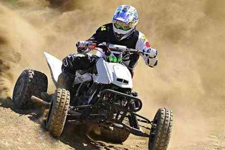 KJB Quadcross - Five mile quad biking experience  - Save 63%