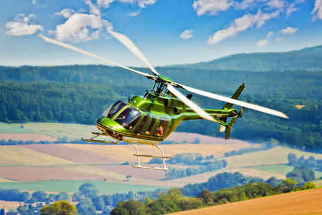 Hields Aviation - 20 helicopter tour of Leeds for up to three - Save 0%