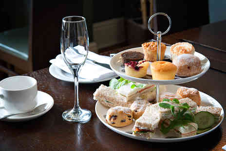 Clayton Crown Hotel - Afternoon Tea with a Cheeseboard to Share and Prosecco for Two  - Save 40%