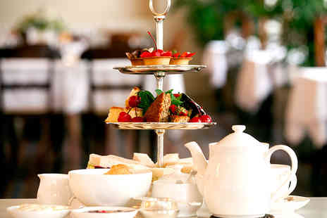 Hole in the Wall Cafe - Afternoon Tea with a Choice of Tea, Coffee or Prosecco for Two - Save 50%