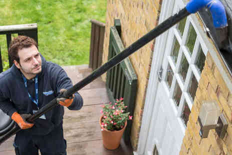 Fantastic Services - Gutter Cleaning for End Terrace or Semi Detached or Two Bedroom or Three Bedroom Detached House - Save 67%