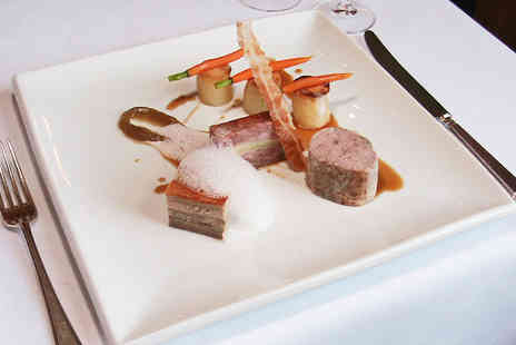 Esseborne Manor - Seven Dish Tasting Menu with Wine for Two  - Save 34%