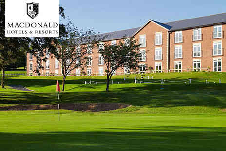 Macdonald Hill Valley Hotel - One, Two, or Three Night Stay for Two with Breakfast Daily - Save 56%
