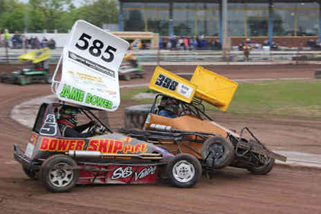 Startrax - Two tickets to stock car and banger racing  - Save 50%