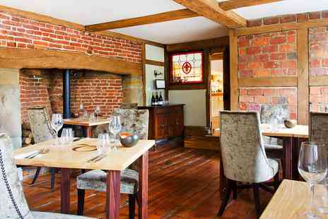 The Queens Inn Hawkhurst - Three Course Meal for Two - Save 36%