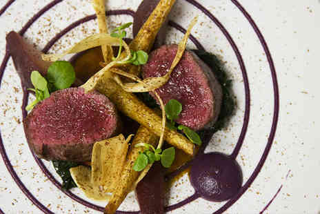 Roux   - Four course tasting menu for two including a Bellini each   - Save 37%