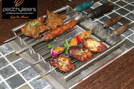Peachy Keens - All You Can Eat Indian Buffet with DIY Barbecue for One - Save 0%