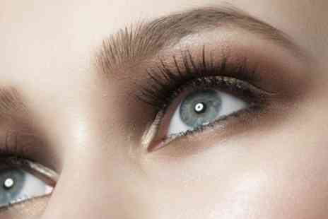 The Pamper Lounge - Semi Permanent Lashes with Optional Refill and Brow Treatments - Save 50%