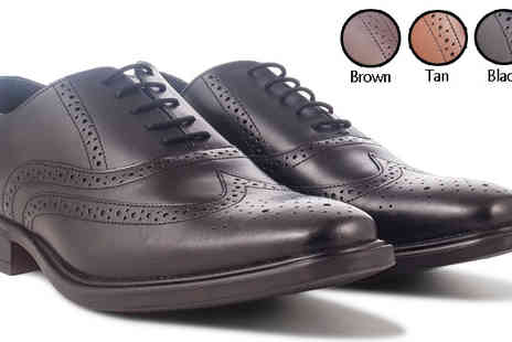 Redfoot Shoes - Mens Brogue Shoes - Save 76%