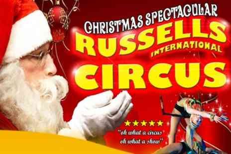 Russells International Circus - Two Tickets to Russells International Circus Plus Entry to the Fun Fair on  December 2015  to January 2016  - Save 64%