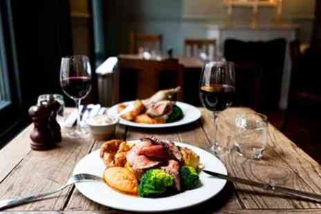 Falstaff Pub - Two Course Sunday Roast with a Bottle of Wine for Two - Save 0%