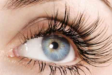 Peers Hairdressing - Cluster Lashes Plus Threading or Waxing with Optional Tinting  - Save 0%