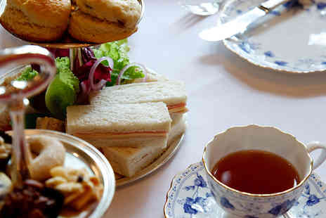 The Cafe at Hartleys - Afternoon Tea for Two in a Blossoming Nursery - Save 42%