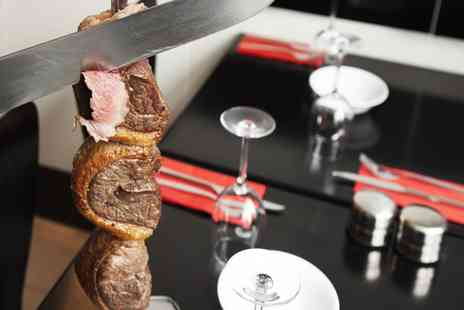 Rodizio Brazil - Brazilian prime rodizio meal with a large glass of wine - Save 58%