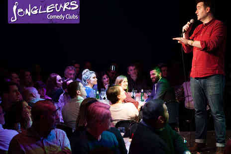 Jongleurs - Ticket to Comedy Night for Two  - Save 43%
