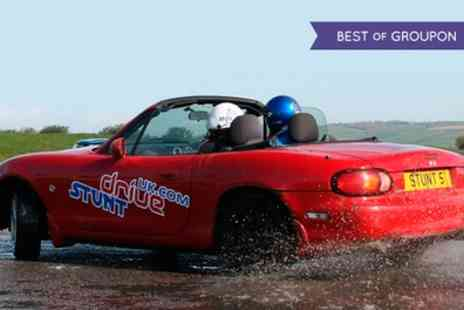 Stunt Drive UK - Teen Stunt Driving Experience - Save 40%