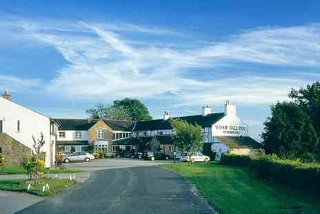 The Whoop Hall - Two night break for Two including breakfast, Three course dinner, a sparkling cream tea and spa access - Save 56%