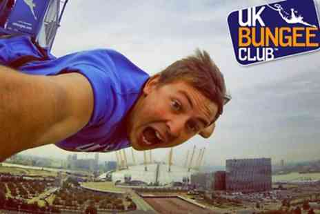 UK Bungee Club - bungee jump for one - Save 18%