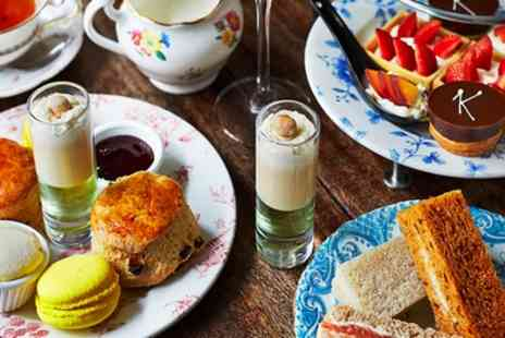Kettners - Afternoon Tea with Champagne for Two - Save 44%