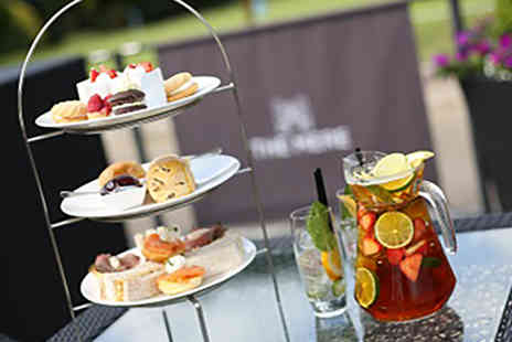 The Mere Golf Resort & Spa - Double AA Rosette Autumn Afternoon Tea for with Prosecco for Two - Save 49%