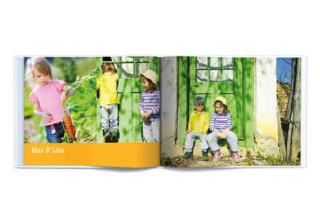 Albelli - Medium Landscape, Portrait or Square Photo Book with Photo Cover - Save 66%