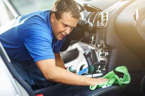 The Valet Centre - One Session of Interior and Exterior Car Valet - Save 60%