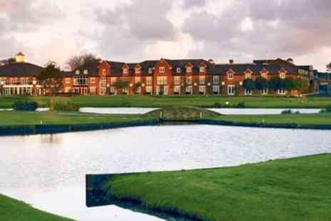Formby Hall Golf Resort & Spa -   Deluxe Merseyside Spa Hotel Stay including Meals - Save 51%