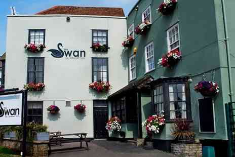 The Swan Hotel - Two Course Lunch For Two or Four  - Save 55%