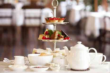 The Manor Hotel  - Champagne Afternoon Tea For Two  - Save 40%