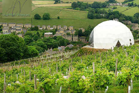 Holmfirth Vineyard - Vineyard Tour, Wine Tasting, and Winter Warmer Afternoon Tea with Mulled Wine for Two - Save 50%