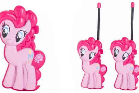 Sonic - My Little Pony Walkie Talkies - Save 46%