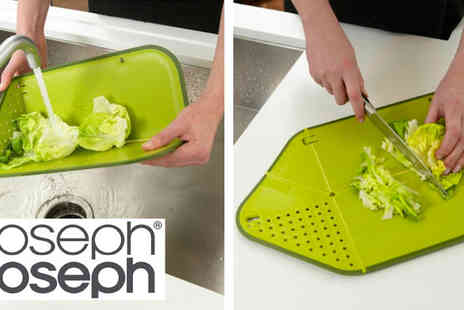 Beauty Fit - Folding 2 in 1 Chopping Board & Drainer - Save 77%
