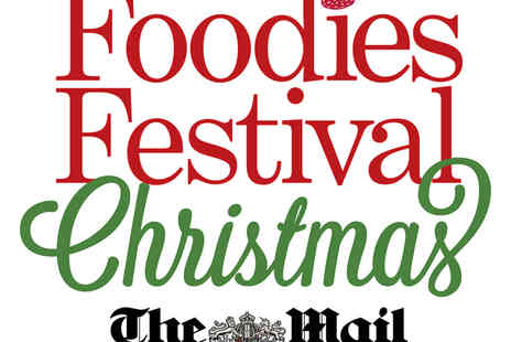 Foodies Festival - Two Tickets to the Foodies Harrogate Christmas Festival with a VIP Option - Save 48%