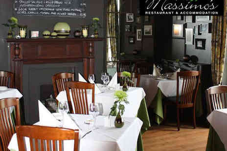 Massimos Restaurant -  £14 for £30 to Spend on Food Between Two - Save 53%