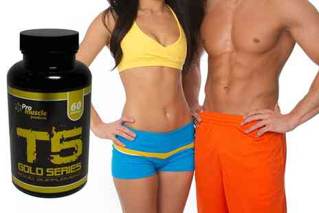 ProMuscle Products Supplements  - Up to Three Months Supply of T5 Gold Series  - Save 79%