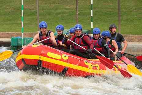 National Water Sports Centre - White Water Rafting for Up to Seven  - Save 46%