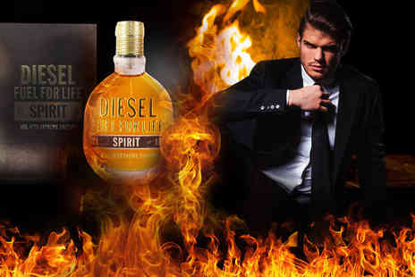 My Perfume Room - 50ml Diesel Fuel for Life Spirit EDT for men - Save 45%