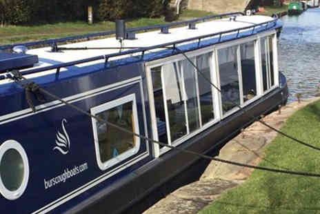 Blue Swan Boat Hire - Festive Canal Cruise with Festive Afternoon Tea for One - Save 62%