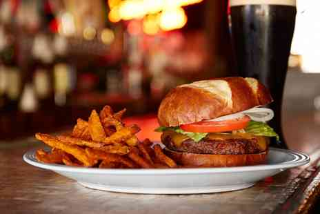 Silverside Grill - Burger, Chips and Beer For One - Save 26%