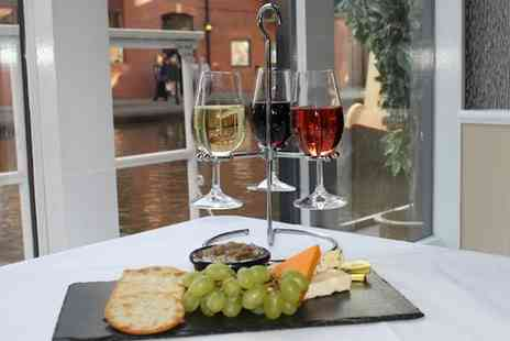 The Mill Hotel - A Flight of Wine and a Cheese Board for One - Save 0%