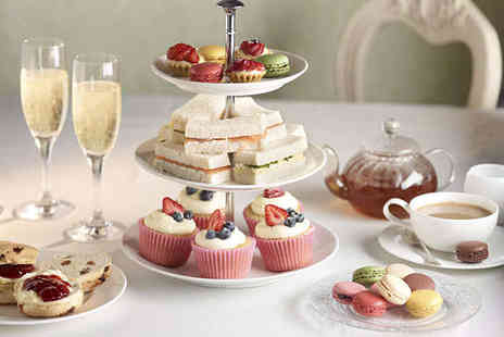 Stratton House Hotel - Sparkling Afternoon Tea for Two - Save 0%