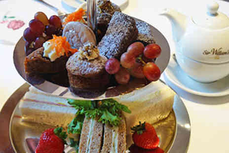 Tophams Hotel -  Champagne Afternoon Tea for Two  - Save 45%