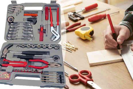 Plus Bee - 141 Piece Pro Complete Tool Kit with Case - Save 0%